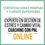 """Curso Online Coaching con PNL """"Gestión del estrés y cambio vital"""""""
